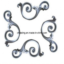 Wrought Iron Flowers by Sand Casting
