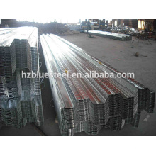 Metal Galvanized Steel Floor Deck Panel Board For Sale , Floor Support Steel Plate , Floor Bearing Plate Bearing Panel