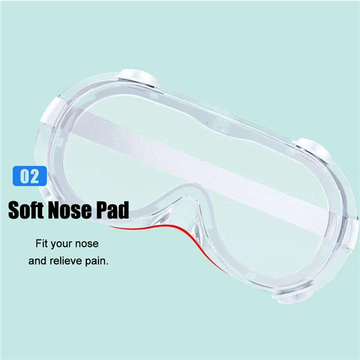 Anti-Fog Chemical Splash Augenschutzbrille