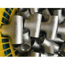 Тонкие стальные сварные тройники с PED / TUV / Ad2000
