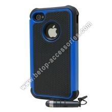 Robusto caucho duro caso para iPhone 4s