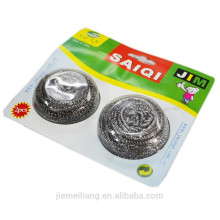 JML Cheap Price Stainless Steel Scourer for pan and pot cleaning
