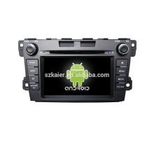Viererkabelkern! Auto dvd mit Spiegellink / DVR / TPMS / OBD2 für 7inch Touch Screen Viererkabel 4.4 Android System MAZDA CX-7