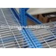 Étagères en grille en acier, étagères en grille, étagères en acier, grille, grille entrepôt