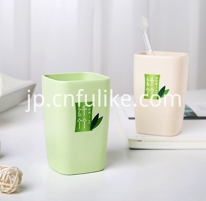 Plastic Toothbrush Cup