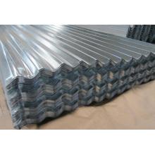 Hoja corrugada galvanizada 4x8