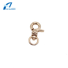 Round Shape Dog Snap Hook Metal Handbag Hardware