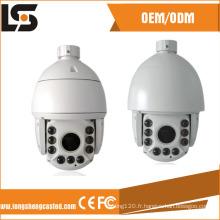 Pièces de moulage de boîtier de caméra à dôme de vitesse étanche IP66