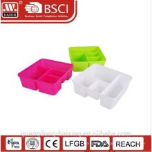 Хорошее качество пластиковые столовые приборы набор держатель
