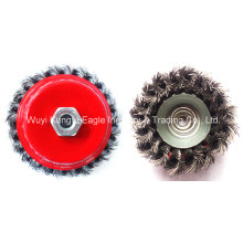 China Manufacturer Crimped Wire Cup Brush Cup Type Wire Brush