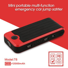 mini multi-function emergancy car jump starter can charger digital deveice kit