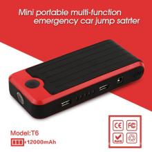 Безопасность Многофункциональный 12v автомобильный стартер с двумя USB-разъемами