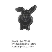 Rabbit shape Christmas cake pan