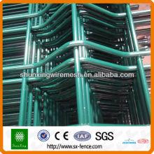 PVC 3D revestido painéis de vedação de malha de arame soldado (ISO9001)