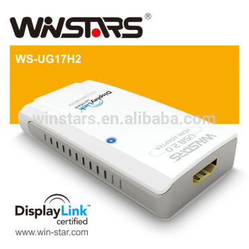 Adaptador de gráficos usb 3.0, conversor Super Speed USB 3.0 5Gbps, suporte USB 3.0 e 2.0 USB