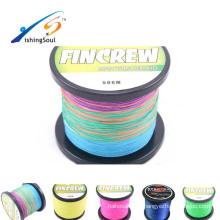BRLN107 plantillas de pesca de hielo clips de línea línea larga máquina de pesca climax multi color 8 hilos espectra trenza pe línea de pesca