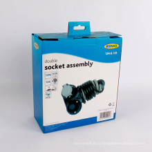 Изготовленный на заказ коробка упаковки, рифленая коробка для запасных частей