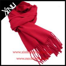 Bufanda de lujo de la cachemira sólida de alta sensación agradable de la mano de la alta calidad
