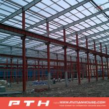 Pth Industrial Profesional diseñado bajo costo estructura de acero almacén