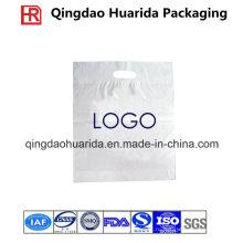 Биоразлагаемый ПВД изготовленная на заказ пластичная вырубной ручкой хозяйственная Сумка