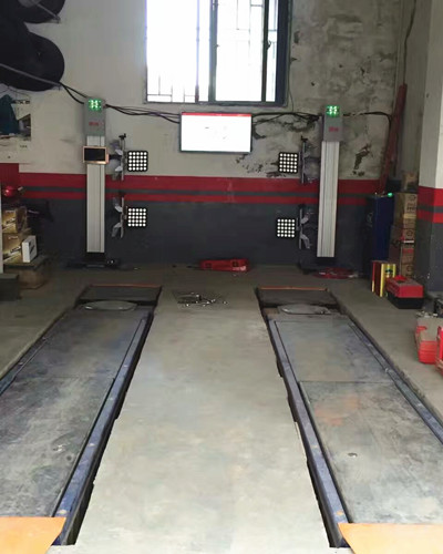 Easy Opreation 3D Wheel Alignment