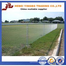 Clôture galvanisée ou PVC enduit de lien de chaîne temporaire à vendre