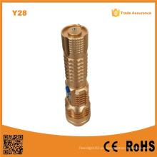 Y28 super poder 1000lumens cabeça ataque USB lanterna