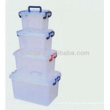 grande molde de caixa de armazenamento de plástico