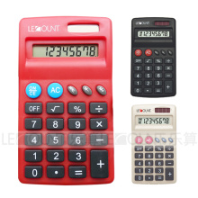 8 Digits Dual Power Small Size Pocket Calculator with Various Optional Colors (LC567A)