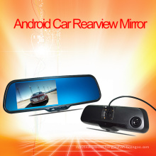 Android Car Rearview Mirror Monitor DVR System