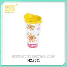 Мультфильм шаблон домашнего использования горячего запечатывания дешево PS пластик чаша для оптовая продажа
