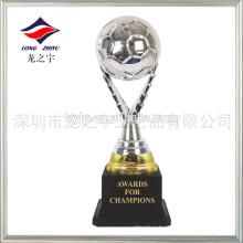 Покрытие серебряный Кубок пластик малый футбольный трофей