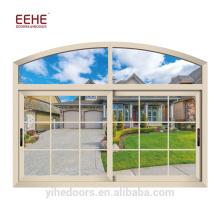 Neueste Aluminium Up Down Schiebefenster-Designs für Zuhause