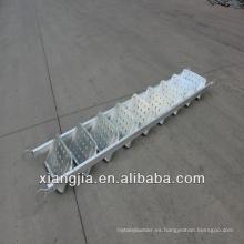 construcción estructura de acero de alta calidad escalera