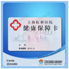 Carte à puce PVC, carte d'identité intelligente, licence de conducteur