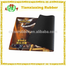Natural Foam Rubber Personalized Game Mat Mouse Pad