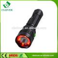 LED rechargeable flashlights 240 lumens aluminum materials led flashlight torch