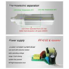 3 ans de garantie 5630SMD G24 LED Pl Lampe