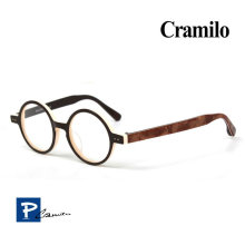 Marco retro de gafas (1201-choc)