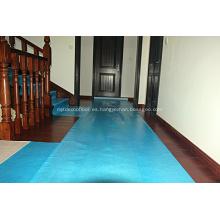 Rollo protector de superficie de mármol autoadhesivo para pisos de madera