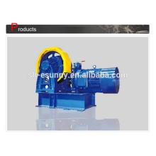 Máquina de tração engrenado de potência máxima de fabricação de qualidade excelente