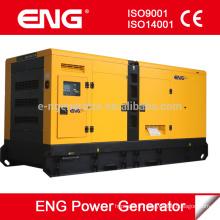 50Hz 1500rpm 3phase générateur 200kw type de groupe électrogène diesel: ouvert ou silencieux