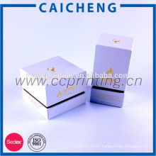 Recyclable Feature and Art Paper Type perfume cosmetic box