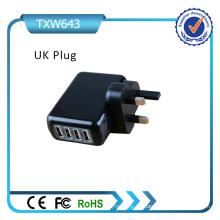 Rcm certificado 4 puerto USB Universal Plugs 5V 4.2A cargador de viaje móvil