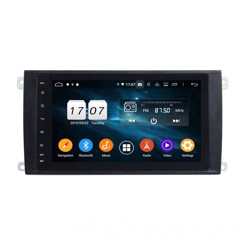 car radio with gps for Cayenne