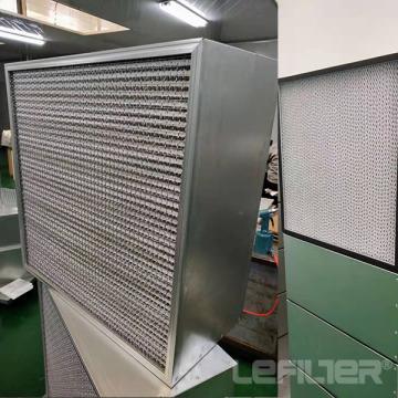 Hochtemperaturbeständiger Plattenfilter
