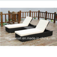 Outdoor Rattan Chaise Lounge, Lounge Stuhl