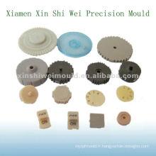 moule d'engrenage en plastique dans divers types et couleurs