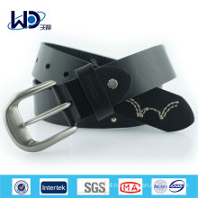2015 Mens casual black leather belts