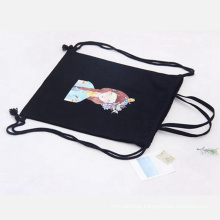 students canvas backpack bag for gift